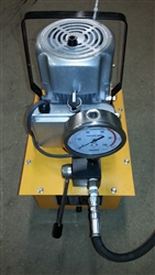 Hydraulic Pump With Manual Valve